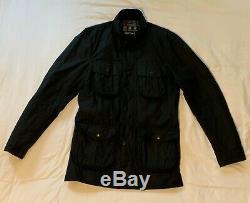 Barbour international Black Waxed Motorcycle Mens jacket. Size M medium