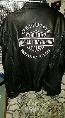 Beautiful used Harley Davidson American Legend Motorcycle Jacket Size 3XL