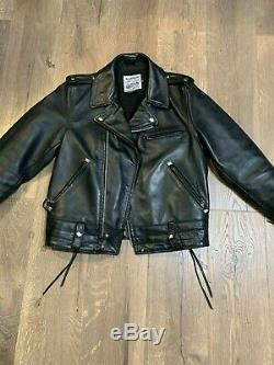 Beck X Schott x Legendary Northeaster 6080 Sz 38 Horsehide Leather Jacket