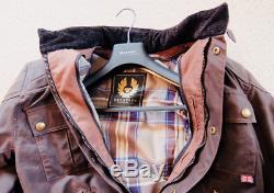 Belstaff Brooklands Motorcycle Jacket Mahogany Large