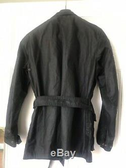 Belstaff Gold Label Trialmaster Mens Waxed Jacket BLACK Size M. Only Used Once
