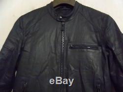 Belstaff H Racer Motorcycle Jacket Size Uk 40 Eu 50