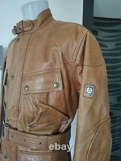 Belstaff Panther Classic leather jacket, Malenotti era, size XL