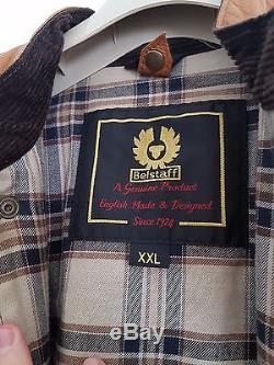 Belstaff Panther Leather Jacket XXL 46 48 RARE! Cognac Brown 58