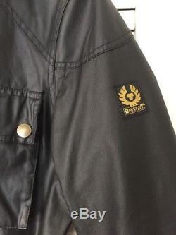 Belstaff Roadmaster Gold Label Oil Waxed Black Jacket