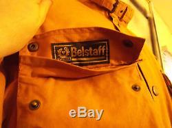 Belstaff Roadmaster Waxed Motorcycle Jacket Size M