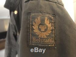 Belstaff Trailmaster Professional Waxed-Cotton Motor Cycle Jacket Size 44