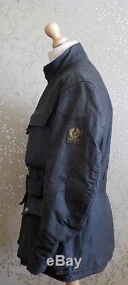 Belstaff Trialmaster Sammy Miller Wax Motorcycle Jacket 40-42 Motorbike Coat VTG