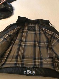 Belstaff Weybridge Mens Leather Jacket US 38/ Italian 48 (NEVER BEEN WORN)