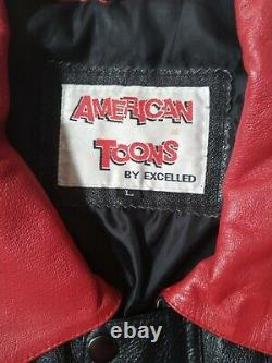 Betty Boop Leather Jacket American Toons By Excelled size XL