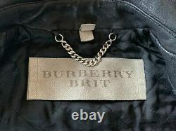 Burberry Brit Iconic Loseley Quilted Leather Jacket IT 42 US 8 Prorsum SS11
