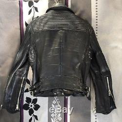 Burberry Prorsum Leather Biker Jacket