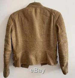 Celine Leather Jacket, Size 40
