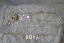 Chanel 09C Off White Sheer Floral Appliqué Moto Jacket Size 42