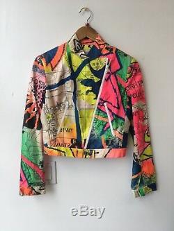 Christian Dior by John Galliano Neon London Map Print Jacket