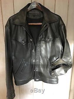 Chrome hearts leather jacket