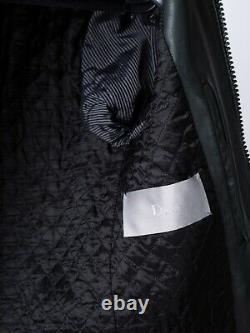 Daft Punk Dior Homme Rare Prototype Sample Hedi Slimane Green Leather Jacket