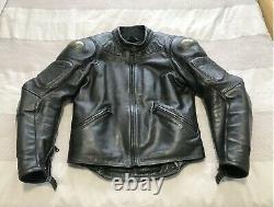 Dainese Leather Motorcycle Jacket EU 54 No Damage Full Armour