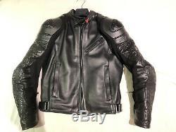 Dainese Tattoo Yakuza YKZ Size 48 Motorcycle Jacket 72 Ultra Rare Limited 2009