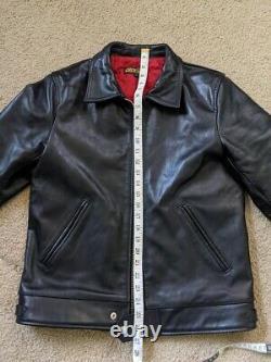 Deck Rider Horsehide leather jacket SZ Medium Black