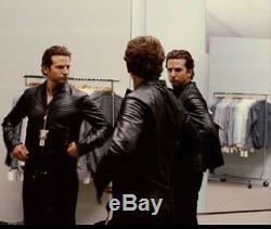 Diesel Lade lambskin leather jacket XL as worn by Bradley Cooper in Limitless