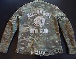 Dope Modern Motorcycle Vintage Wash Camo Jacket by Billionaire Boys Club Bape