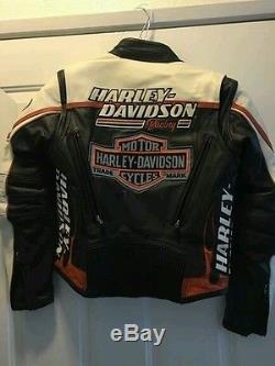 EUC Harley Davidson women's leather jacket