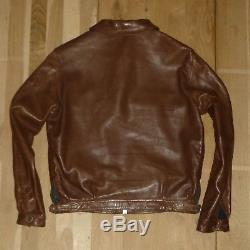 Eastman Hartmann Luftwaffe Motorcycle Jacket / Size 40 / Capeskin / WW2