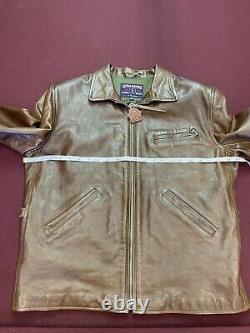 Eastman Leather ELMC Havana Californian Horsehide Jacket Size 44
