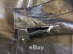 Eastman Leather HORSEHIDE Ostmann WWII German Flying jacket sz 44