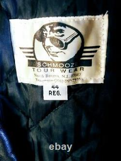 Extremely Rare Vintage Metallica Roadie Leather Bomber Jacket Mint Condition