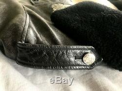 FW17 Raf Simons for Calvin Klein Rose Embossed Shearling Jacket