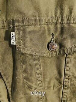 Filson x Levis Trucker Hunter Jacket-Olive-Size Medium-No Reserve