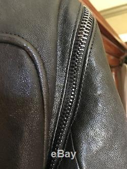 GIVENCHY black lambskin leather jacket FR42, US 6, 8 medium. Beautiful, soft
