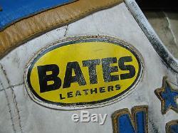 Gary Nixon #9 Bates Leather Race Suit Jacket & Pants Triumph Yamaha Motorcycle