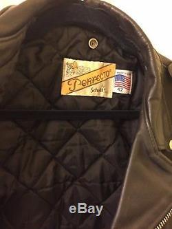 Genuine Schott Perfecto 618 sz42 Leather Jacket