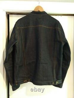 Ginew Selvedge Denim Rider Jacket