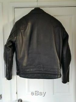Goldtop 76 Leather Cafe Racer Jacket Uk 44 Armoured Used Not Lewis Aviakit
