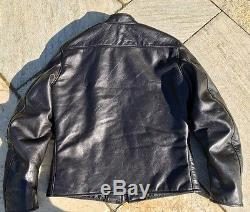 Good Wear Leather Californian Racer Horsehide Motorcycle Jacket Size 44