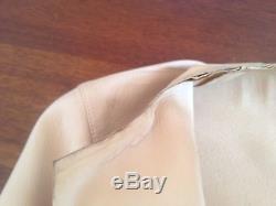 Gucci Tom Ford Leather Beige Ivory Motorcycle Blazer Jacket Coat M