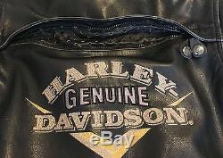 HARLEY DAVIDSON VICTORY JACKET. VINTAGE ITEM 90's