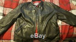 HA leather jacket