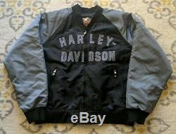 Harley Davidson 100th ANNIVERSARY JACKET USA Made- Bomber style MEN'S. Size XL