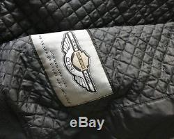 Harley Davidson 1903-2003 100th Anniversary Black & Grey Motorcycle Jacket XL