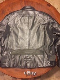 Harley Davidson 2XL Mens Black leather jacket