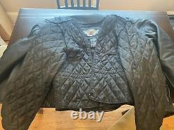 Harley Davidson COMPETITION II 2 Leather Jacket with LINER and ARMOR Large L