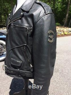Harley Davidson Cruiser Leather Jacket Men S Large