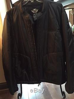 Harley-Davidson FXRG Leather Jacket, Leather Pants, Jacket liner And Armor Pads