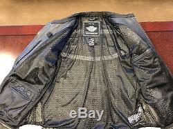 Harley Davidson Genuine Leather Jacket Mens XL NO RESERVES