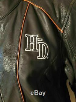Harley Davidson Jacket, LIM. EDITION Goat Skin Leather, Women's, MEDIUM